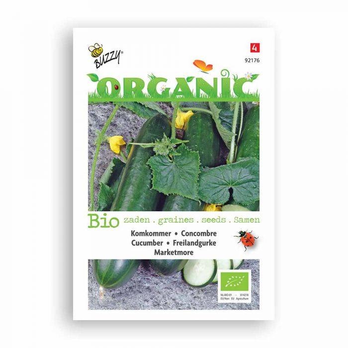 Buzzy® Organic Komkommer Marketmore (BIO)