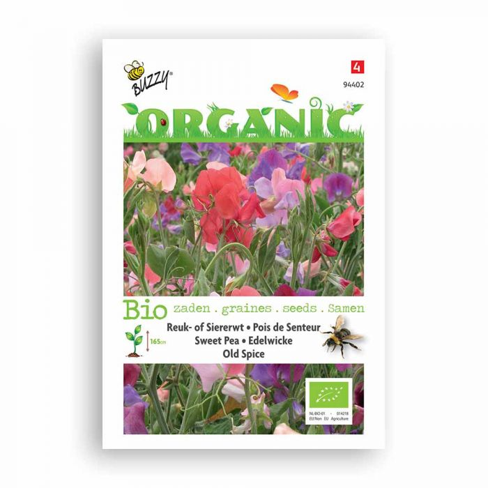 Buzzy® Organic Lathyrus odoratus Old Spice (BIO)