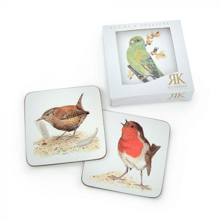 Onderzetters met vogels - Roy Kirkham