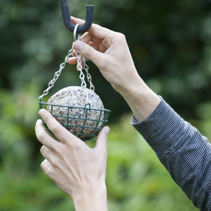 Mandjes voor reuzenvetbol