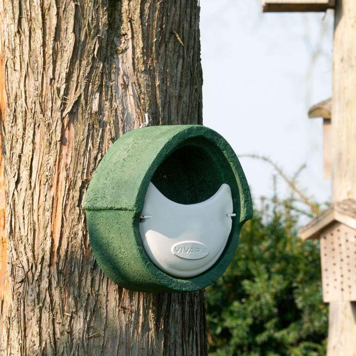 Nestkast Alicante WoodStone halfopen Groen