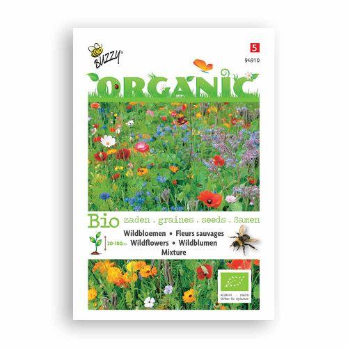 Buzzy® Organic Wildbloemen mengsel (BIO)