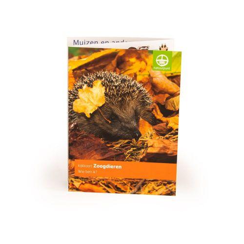Natuurpunt kijkkaart Zoogdieren