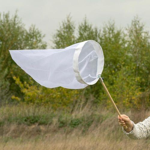 Vlindernet wit 30 cm opklapbare beugel