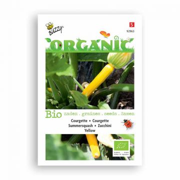Buzzy® Organic Courgette geel (BIO)