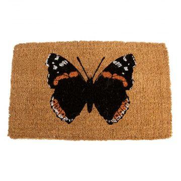Kokosdeurmat vlinder