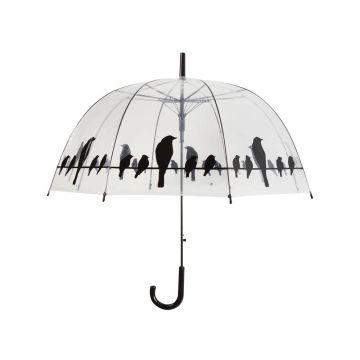 Paraplu met vogelsilhouet