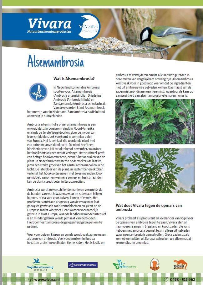 ambrosia factsheet