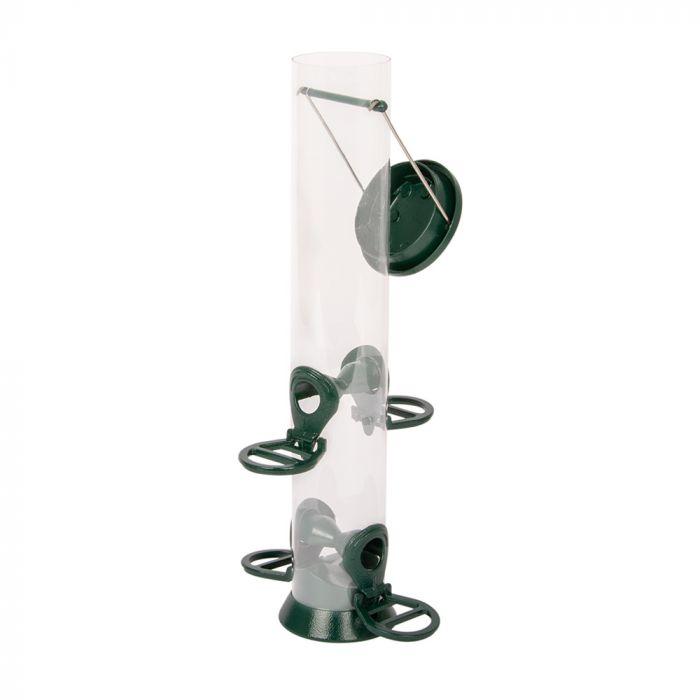 Voedersilo Metaal 38 cm groen