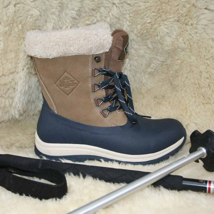 Muck Boot Arctic Lace Mid Leather dameslaars
