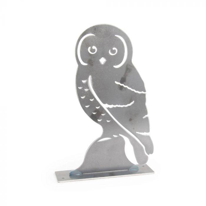 Metalen vogel Bosuil
