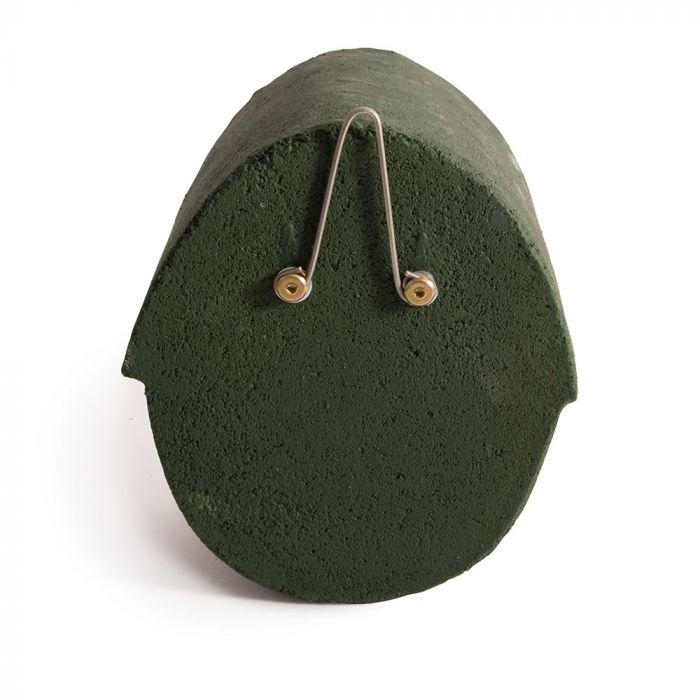 Nestkast Alicante WoodStone ovale invliegopening Groen