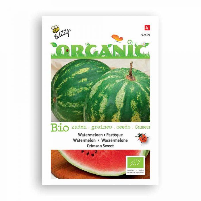 Buzzy® Organic Watermeloen Crimson Sweet (BIO)