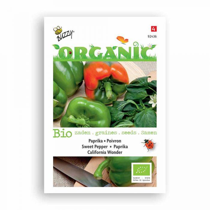 Buzzy® Organic Paprika California Wonder (BIO)