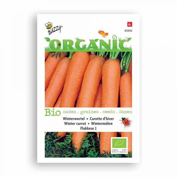 Buzzy® Organic Winterwortelen Flakkese 2 (BIO)