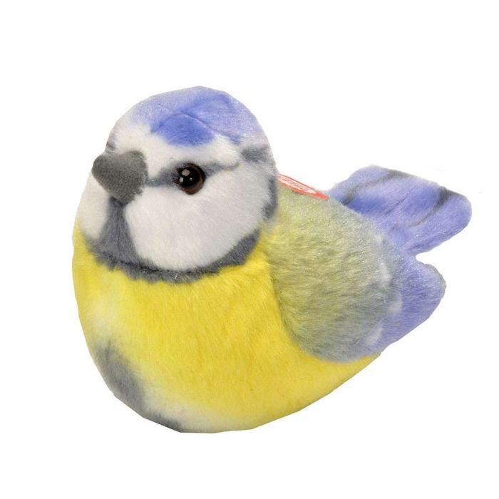 Vogelknuffel met geluid – Pimpelmees