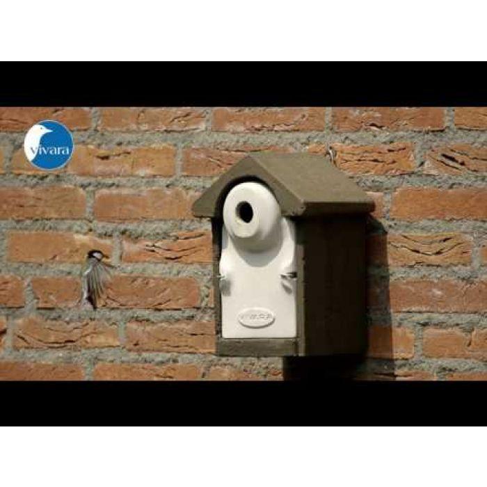Nestkast Sevilla WoodStone 28 mm Bruin