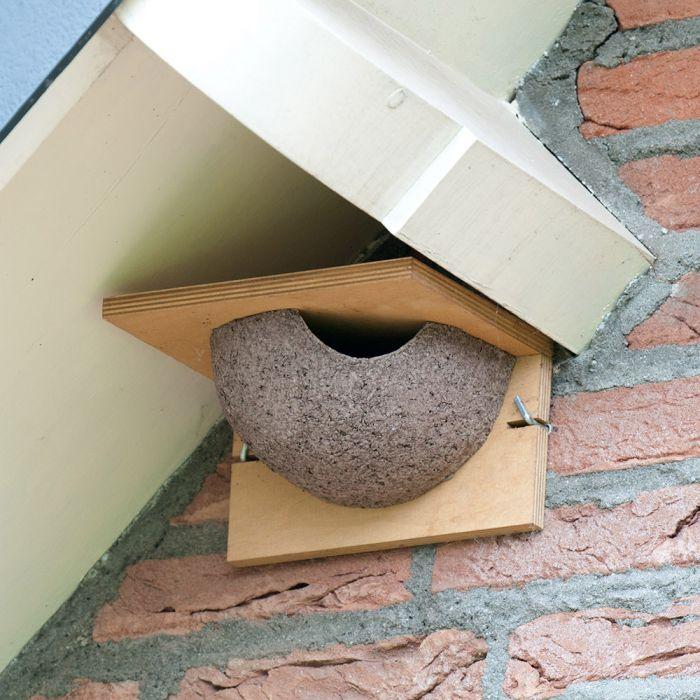 Kunstnest huiszwaluw enkel (ingang rechts)