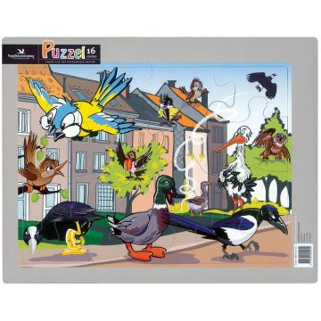 Kinderpuzzel Set II Straat/bos