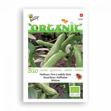 Buzzy® Organic Tuinbonen Witkiem (BIO)