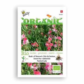 Buzzy® Organic Lathyrus odoratus Painted Lady (BIO)