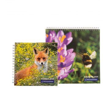 Combipakket natuurmonumenten kalender en agenda 2020