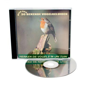 CD Herken de vogels in uw tuin