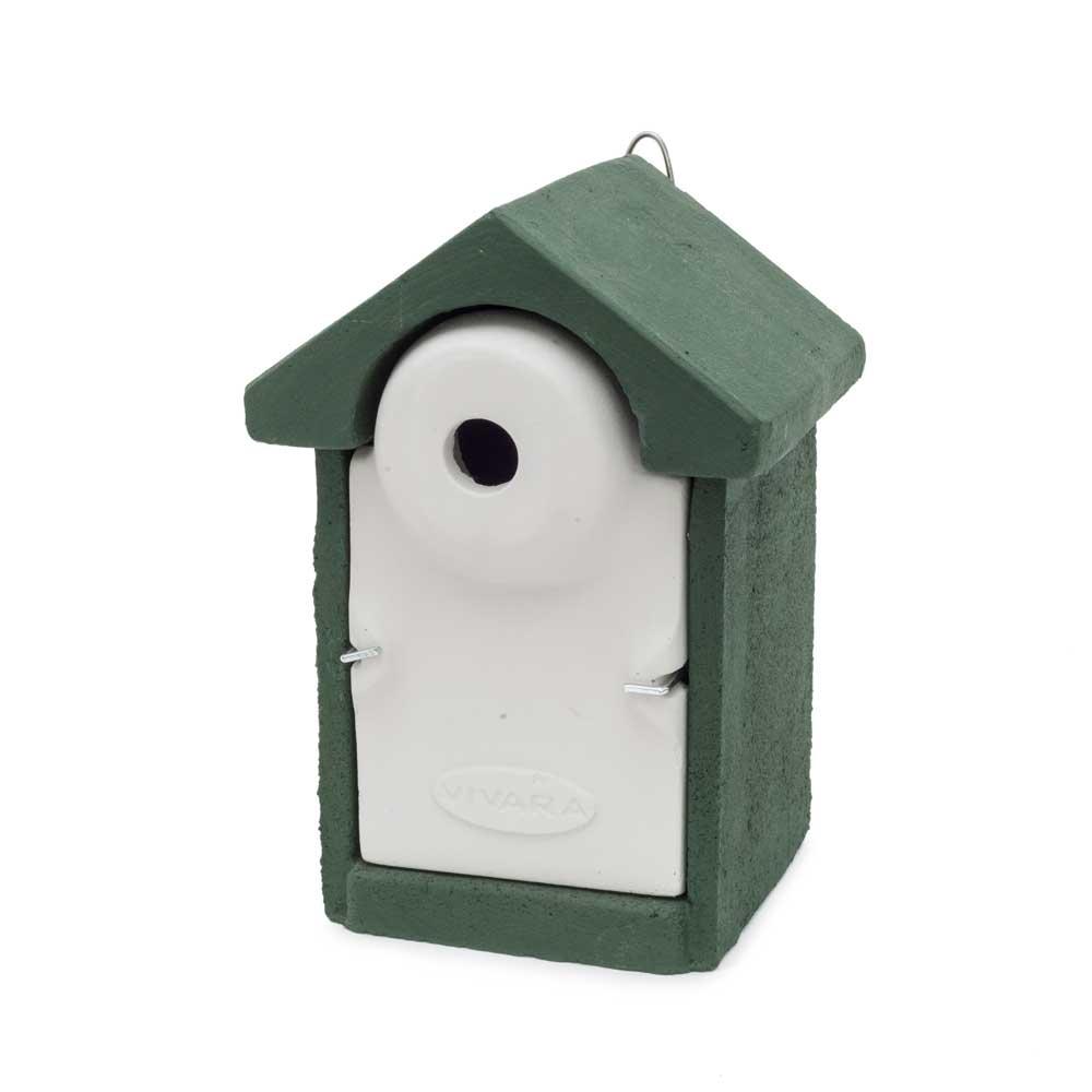 Houtbetonnen nestkasten vogelhuisjes